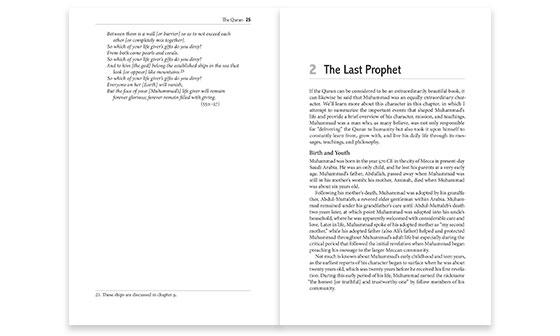 Book Interior Design Portfolio Chapter